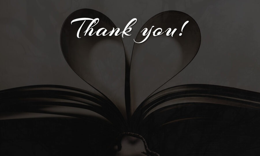 Thank you - Siobhian R. Hodges Author