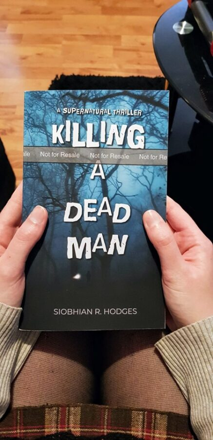 Killing a Dead Man Book Cover - Siobhian R. Hodges Author