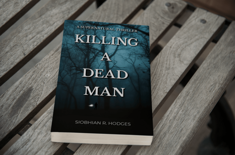 Killing a Dead Man Book Cover Mockup - Siobhian R. Hodges Author